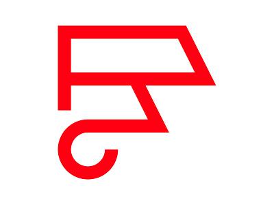 F abstract tech xler8brain symbol identity branding mark f monogram f f letter f mark f logo
