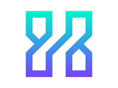 H - Home xler8brain identity branding h h mark haus casa house logo h monogram h letter home logo h home