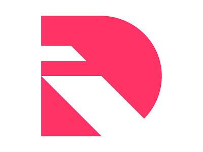 Di xler8brain symbol identity branding mark design letter d d monogram d mark di logo di