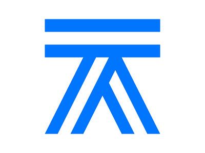 TA xler8brain symbol identity branding mark monogram