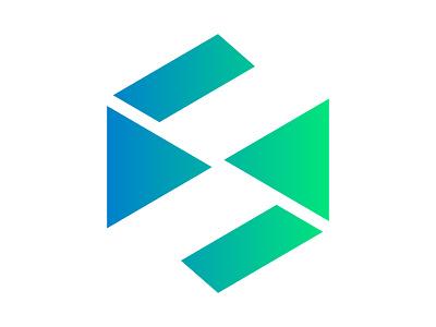 S xler8brain symbol identity branding mark design s s logo s monogram letter s s mark s logomark
