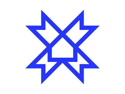 Home xler8brain monogram symbol identity branding mark casa house home