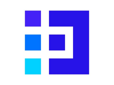 D xler8brain symbol identity branding mark design digital platform technology data
