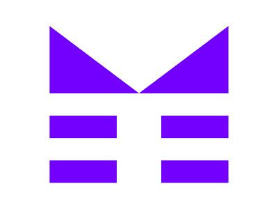 M xler8brain symbol identity branding m m letter m monogram m mark m logo