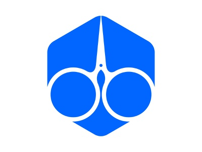 Barber xler8brain symbol identity branding mark monogram barber