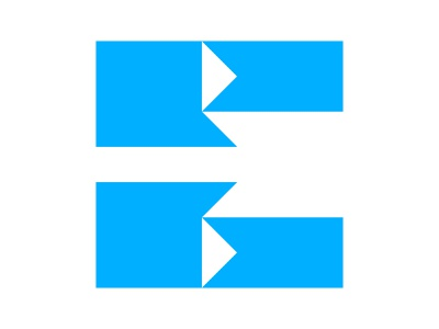 E alphabet icon monogram e letter e mark e monogram e chat xler8brain