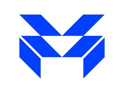 MV xler8brain symbol identity branding mark design monogram m letter m monogram m mark m logo mv mv logo