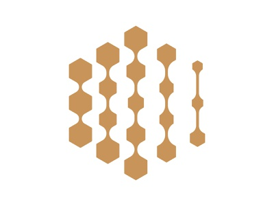 Hexatec xler8brain symbol identity branding mark design monogram logo hexa hexagon technology hexatec
