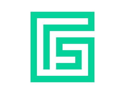 GS xler8brain symbol identity branding mark design monogram logo g g monogram g mark g logo gs gs mark gs logo