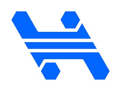 H Mark xler8brain symbol identity branding mark design monogram logo h h letter h monogram h mark h logo