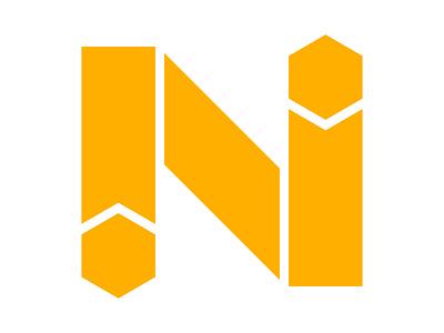 N xler8brain symbol identity branding mark design monogram logo n n letter n monogram n mark n logo