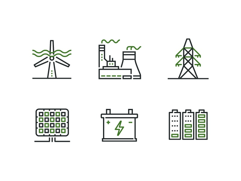 Climate connect icons