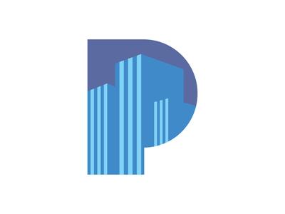 P Logo Real Estate