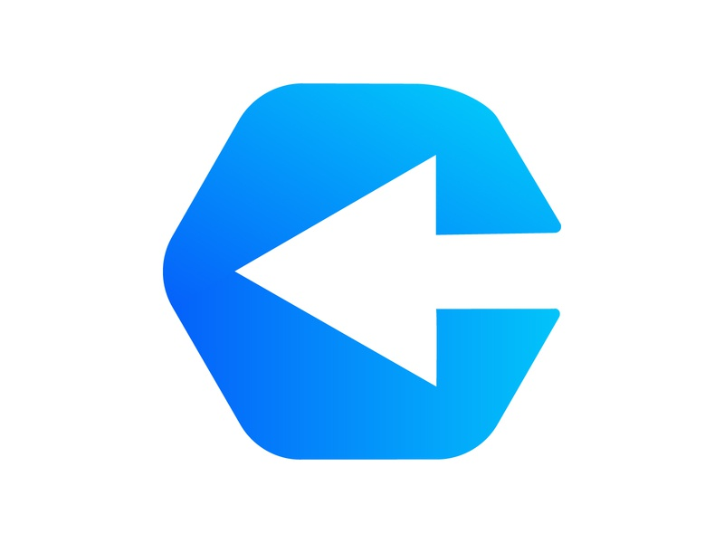 C + Arrow c letter ux design ui concept branding website vector illustration arrow logo c arrow c logo monogram logo