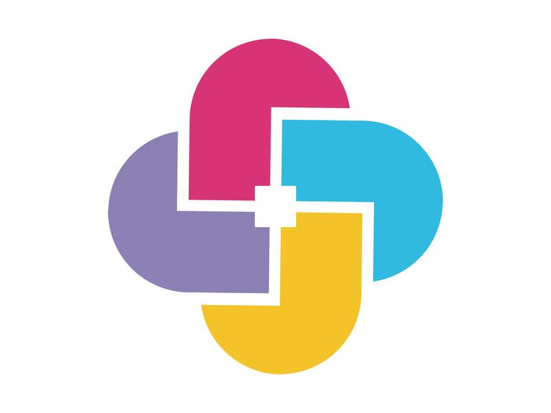Communication illustration vector icon concept design mark monogram logo chat team communication