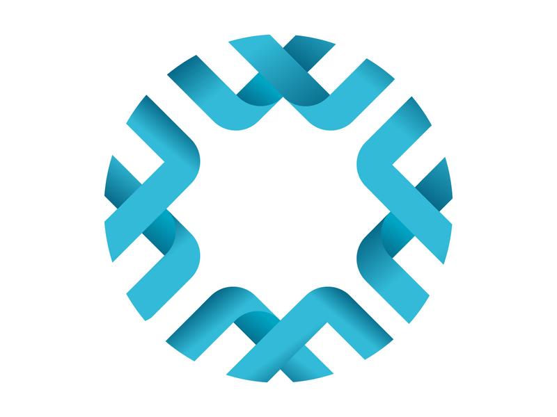 O+W Logo lettering type gradient minimal flat icon alphabet app vector illustration mark letter concept design monogram logo o letter logo owl logo