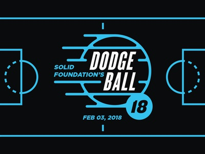 Dodgeball Fundraiser Branding