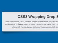 Wrapping Shadows with CSS3