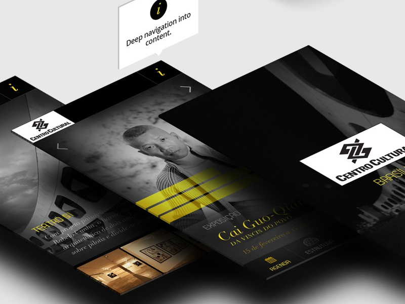 CCBB - APP_ Concept app ui design
