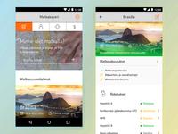 Travel Insurance app - Concept