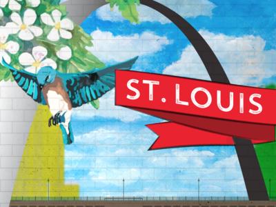 St Louis Photo Backdrop