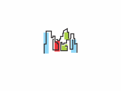 real estate vector icon logo