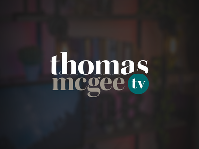 Thomas McGee Brand Identity typography vector branding illustration logo brand identity