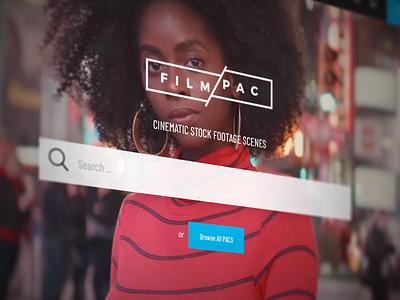 FILMPAC® Stock Video Library website ux ui woocommerce wordpress