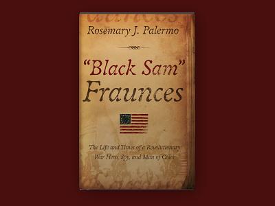 """Black Sam"" Fraunces Book Jacket Design illustration typography book cover book cover design design branding"