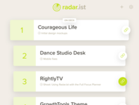 Radar.ist Web App