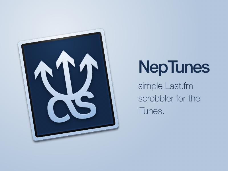 NepTunes - my first Mac app mac app last.fm itunes icon