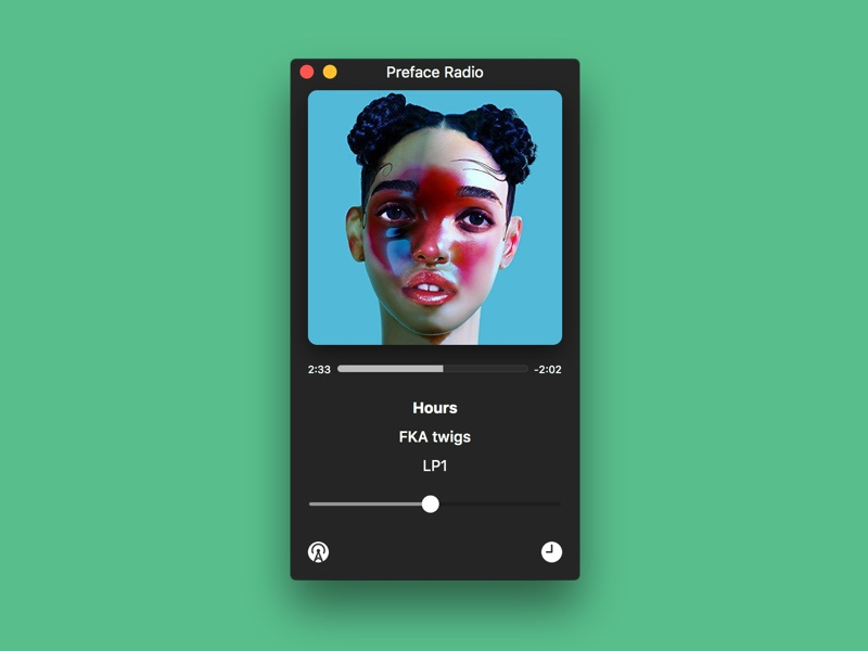 Anesidora – native pandora client for Mac stream radio player app mac pandora pandora radio