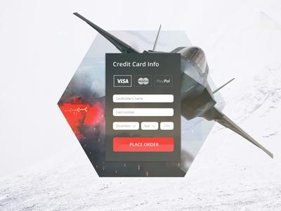 002 Daily UI Credit Card