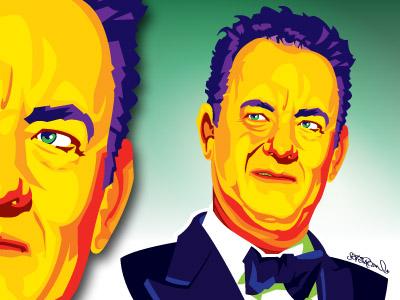 Hanks Illustration