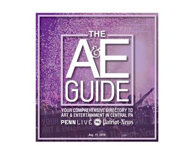 Arts & Entertainment Guide Branding & Cover