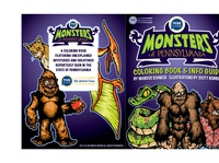 Monsters of PA Coloring Book jacket