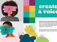 Teen Program Branding Concept