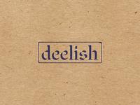 Deelish Logo Concept