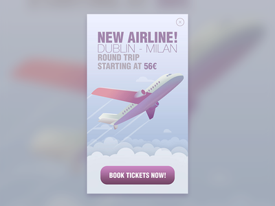 Airline Advertisement