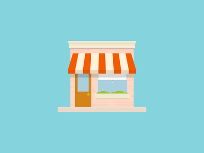 Storefront Sketch commerce e-commerce iconography godfrey silas bigcommerce sketch store icon storefront