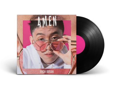 Rich Brian –Amen | Album Artwork album cover vinyl promotional single artwork amen rich brian album art