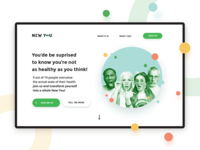 New You - Landing Page