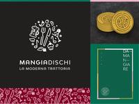 Mangiadischi Logo