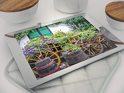 Tablets in The Kitchen