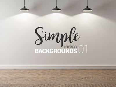 10 x Simple Interior Backgrounds -01