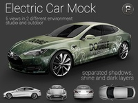 Electric Car Mock Up