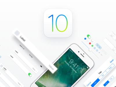 iOS 10 Adaptive UI Kit for Sketch apple mockup ipad iphone template ui design ios sketch design ui ux