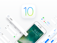 iOS 10 Adaptive UI Kit for Sketch apple mockup ipad iphone template ui design ios sketch design ui ux