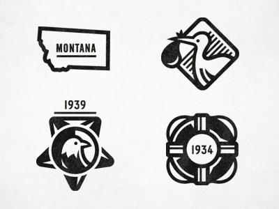 Dribbble anc badges