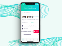Event App Concept For iPhone X